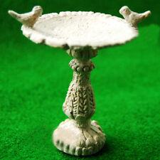 1:12 Maison de poupées miniature Fairy mobilier de jardin Résine Oiseau bain Fontaine DECOR *
