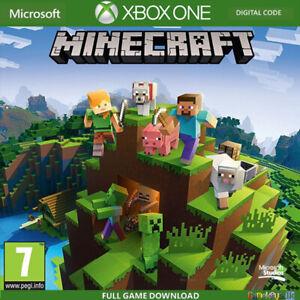 Minecraft Xbox One Full Game Digital Key Code Region Free (No CD/DVD)