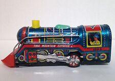 vintage tina mountain express train