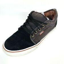 Vans Iconic Trainers Sneakers UK7.5 EU41 Black Brown Unisex (1306 B15)