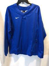 NWT! Nike Mens Baseball Vapor LS Windshirt/Jacket Sz Small Blue