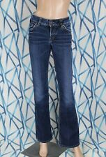 Silver Jeans Womens Jeans 26x34 Blue Suki Dark Wash
