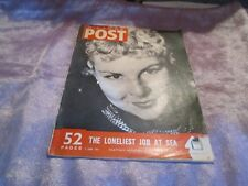 PICTURE POST MAGAZINE 2nd june 1951 Cover The Lady & the Highly strung horse