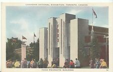 Canadian Postcard - National Exhibition Toronto - Food Products Building  ZZ1885
