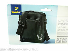 TCM Tchibo Sicherheits Umhängetasche Schultertasche Tasche schwarz NEU