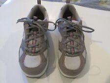 Skechers Shape Ups  Womens  Silver Gray Pink 8.5 Toning Comfort