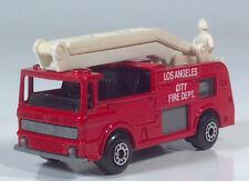 Matchbox Merryweather Snorkel Truck Fire Engine Boom Ladder Los Angeles City