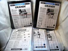 Leuchtturm Grande Hüllen Schwarz/Glasklar 5er Packung zur Auswahl