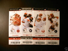 Cincinnati Reds Baseball Vintage Ticket Stubs