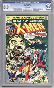 X-Men #94 CGC 8.0 Off-White pages - New X-Men begin.  2nd app of few characters!