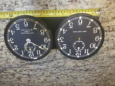 2 Wwii U. S. Navy Mark I Deck Seth Thomas Ship's Clock Movements and Dials