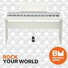 Korg B2 Digital Electric Natural Weighted Stage Concert Piano White 88 Key Note