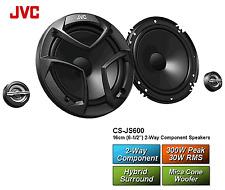 JVC CS-JS600 2-Wege Komponenten Lautsprecher 160 mm / 300 Watt Max