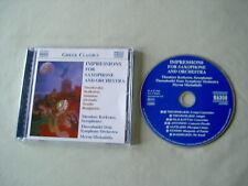 Saxophone Music: THEODORAKIS/SKALKOTTAS/ANTONIOU etc Kerkezos Michailidis CD