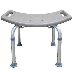450lb- Elderly Shower Chair Anti-Slip Shower Bench Bathtub Stool Seat Bath Seat