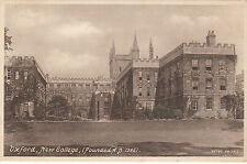 New College, Founded A. D. 1386, OXFORD, Oxfordshire