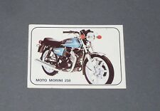 N°279 MOTO MORINI 250 ITALIA ALBUM PANINI MOTO SPORT 1979