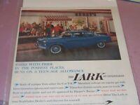1959 VINTAGE STUDEBAKER LARK PRINT AD **SALE**