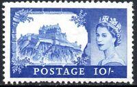 1955 Sg 538 10s ultramarine Waterlow High Value printing Mounted Mint
