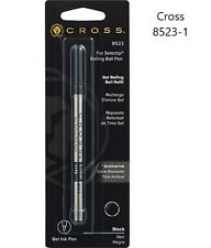 Cross 8523 Black Select Tip Roller Ball Pen Refill x 1 With Archival Ink