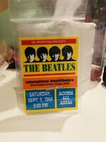 1964 Beatles International Amphitheater Access All Areas Pass