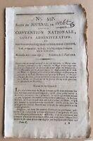 Saint Florent en 1794 Corse Barbotan Gers Charry Le Mans Journal Révolution