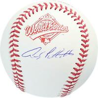 Andy Pettitte New York Yankees Autographed 1996 World Series Logo Baseball