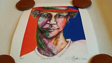 """""""Colored Man 1"""" Ethnic Expressive Art Limited Ed 25 (Small Size) Charles Bibbs"""