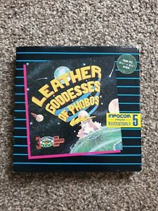 """Leather Goddesses of Phobos by Infocom -  IBM PC 3.5"""" and 5.25"""""""