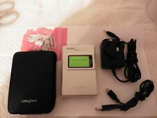 VERY RARE 2003 Creative Nomad Jukebox ZEN NX 30GB collectable MP3 Player WORKING