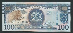 TRINIDAD and TOBAGO 100 Dollars 2014 P-51 UNC