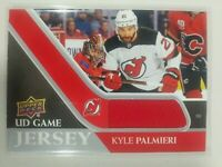 2020-21 Upper Deck Series 1 Kyle Palmieri UD Game Jersey New Jersey Devils