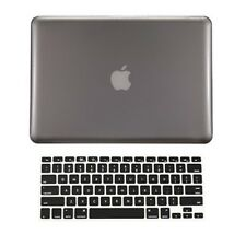 "2 in1 GRAY Crystal Hard Case Cover for Macbook PRO 13"" A1278 with Keyboard Cover"