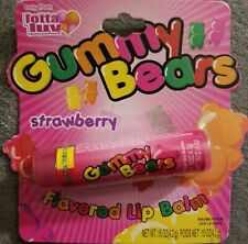 Gummy Bears strawberry flavored lip balm~RARE VINTAGE COLLECTIBLE