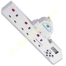 3-way Mains Gang Power Plug 7 Day Digital Timer Socket