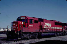SOO CANADIAN PACIFIC RAILROAD SD60 #6050 KODACHROME ORIGINAL SLIDE