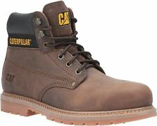 Caterpillar Brown Powerplant GYW Safety Boots