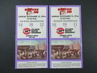 VTG 1994 Atlanta HOOTERS 500 Nascar 2 Ticket Stubs MARK MARTIN Auto Race Winner