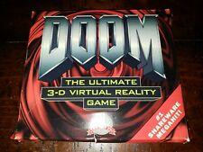 "Doom 3-D Virtual Reality Game Shareware PC 3.5"" Floppy Disks w/ Box Instructions"