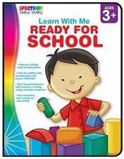 Ready for School, Grades Preschool - K (Learn with Me)