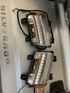 2018-2021 Jeep Wrangler JL Fender DRL Park Turn LED & Side Lamp Light LH&RH Set