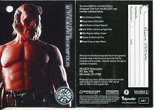 Redeemed Clean PW5 Hellboy The Movie Pieceworks Redemption Card PR1