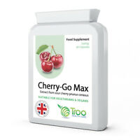 Cherry Go Max Montmorency 750mg x 90 Capsules -Joint Pain & Gout relief - troo