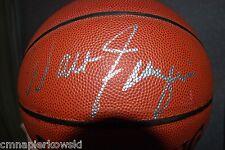 Walt Fraizer autographed NBA Basketball NY KNICKS includes case-