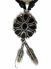 AMERICAN INDIAN PEWTER PENDANT MENS BOYS WOMENS GIRLS NECKLACE LP021
