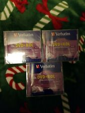 Verbatim 8x DVD+R DL Double Layer Recordable (Brand New In Plastic)