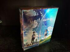 Your Name Blu-ray/DVD Funimation Limited Edition anime Kimi No Na Wa Ha New