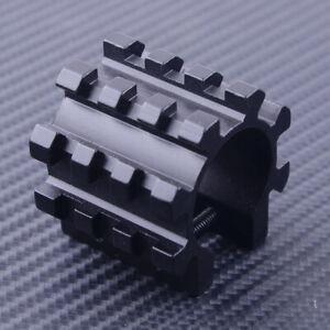"""1"""" Tube Light Laser Mount 12 Gauge Fit for Picatinny Mossberg 500 Remington 870"""