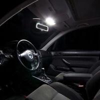 3 ampoules à LED éclairage blanc lumière pour plafonnier VW Golf 4 Touran