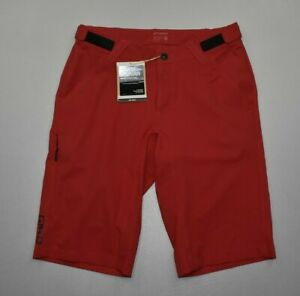 """NEW Giro Men's Arc Cycling 22"""" Shorts Size 32 Dark Red Not Padded"""